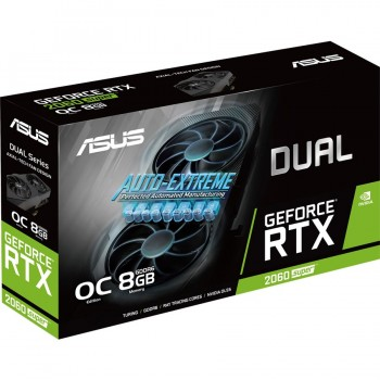 Asus Dual GeForce RTX 2060 Super EVO OC Edition 8GB GDDR6 DUAL-RTX2060S-O8G-EVO Graphics Card