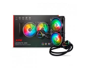 XPG EPS LEVANTE 240 Addressable RGB CPU Liquid Cooler