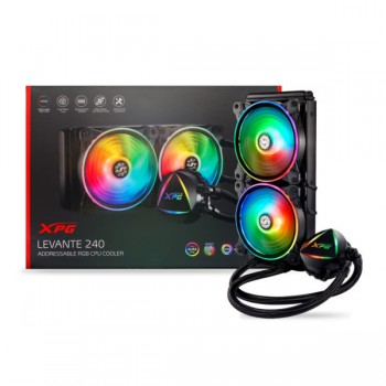 XPG EPS LEVANTE 240 Addressable RGB CPU Liquid Cooler