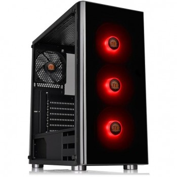 Thermaltake V200 Tempered Glass RGB Edition Mid Tower Chassis - CA-1K8-00M1WN-01