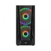 AeroCool NightHawk Duo ARGB Mid Tower Gaming Case Black