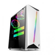 1st Player Rainbow R3 ATX Gaming Case White with 3 Fans