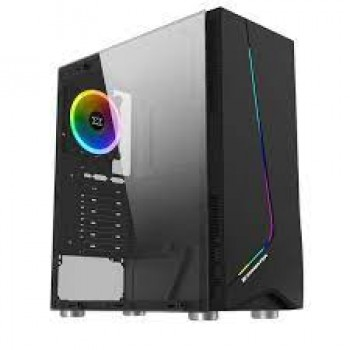 Xigmatek Eros Tempered Glass RGB Mid Tower Chassis