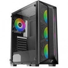 Xigmatek Trio Tempered Glass ARGB Mid Tower Chassis