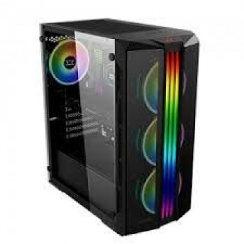 Xigmatek Triple X Tempered Glass ARGB Mid Tower Chassis