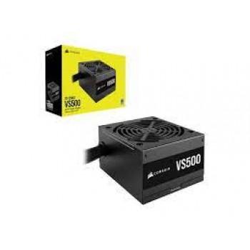 CORSAIR VS Series, VS500, 500 Watt, 80+ White Certified, Non-Modular Power Supply