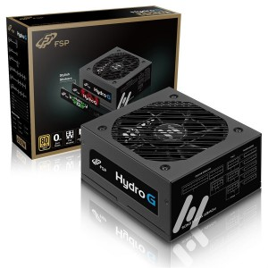 FSP Hydro G HG750 750W 80 PLUS GOLD Certified Full Modular Power Supply