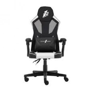 1st Player P01 Black & White Dedicated to improving gamers Gaming Chair