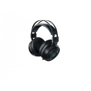 Razer Nari Wireless: THX Spatial Audio - Cooling Gel-Infused Cushions - 2.4GHz Wireless Audio - Mic with Game/Chat Balance - Gaming Headset Works for PC, PS4, Switch & Mobile Devices