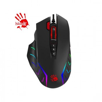 Bloody J95 2-Fire RGB Animation Gaming Mouse