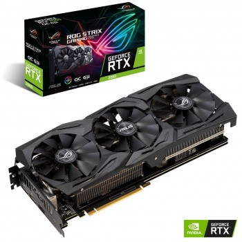 Asus ROG Strix GeForce RTX™ 2060 OC edition 6GB GDDR6 Graphics Card