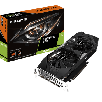 Gigabyte GeForce® GTX 1660 Ti WINDFORCE OC 6G