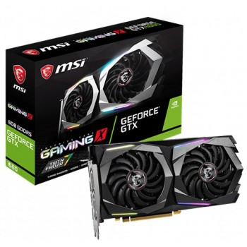 MSI GeForce GTX 1660 GAMING X 6G Graphics Card, 6GB DDR5 192 bit