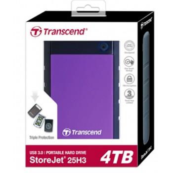 Transcend 4TB External Hard Drive Portable