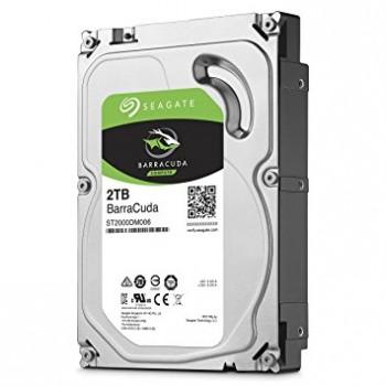 Seagate Barracuda 2 TB SATA desktop hard Drive