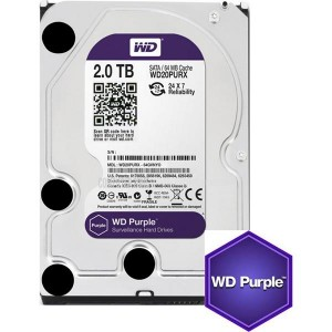 Western Digital WD Purple 2TB Surveillance Hard Drive