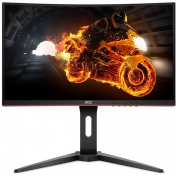 "AOC C24G1 24"" Curved Gaming Monitor, 144Hz, FreeSync"