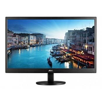"""AOC E2470SWH/89 23.6"""" LED Black Multimedia FHD Monitor"""