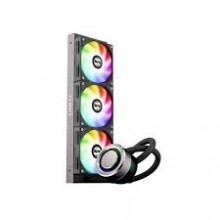 Lian Li Galahad AIO360 RGB Black-Triple Addressable RGB Fans AIO CPU Liquid Cooler - GA360B Galahad AIO 360 Black 360mm
