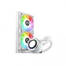LIAN LI Galahad AIO 240 RGB White Addressable RGB Fans AIO CPU Liquid Cooler