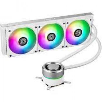Lian Li Galahad AIO360 RGB White -Triple 120mm Addressable RGB Fans AIO CPU Liquid Cooler - GA360A