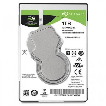 "Seagate BarraCuda 2.5"" 1TB Laptop Hard Drive"
