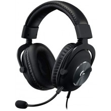 Logitech G Pro X Gaming Headset with Blue Voice Technology - Black