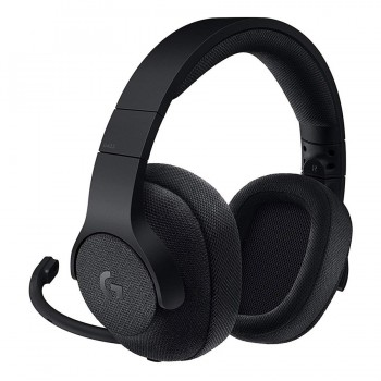 Logitech G433 Wired Surround Gaming Headset, Black
