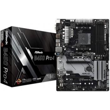 ASRock ATX Motherboard (B450 PRO4)
