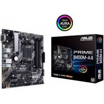 ASUS Prime B450M-A II AMD MotherBoards