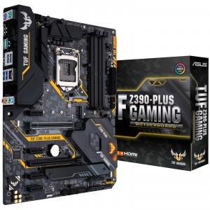 ASUS TUF Z390-PLUS Gaming LGA1151 (Intel 8th and 9th Gen) ATX Motherboard