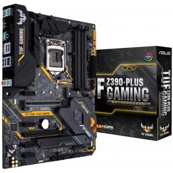 ASUS TUF Z390-PLUS Gaming LGA1151 (Intel 8th and 9th Gen) ATX Motherboard