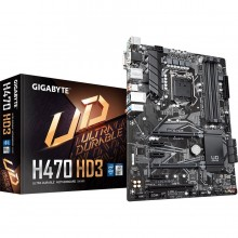 Gigabyte H470 HD3 Intel H470 Ultra Durable Motherboard