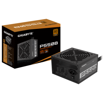 Gigabyte P550B 80 PLUS Bronze Certified 550W Power Supply