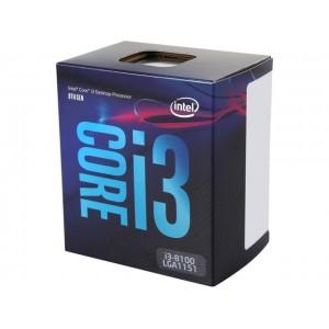 Intel Core i3-8100 Processor, Coffee Lake, LGA 1151