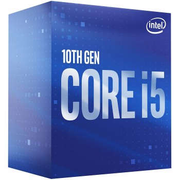 Intel Core i5-10400 Comet Lake 6-Core 2.9 GHz LGA 1200 65W BX8070110400 Desktop Processor Intel UHD Graphics 630