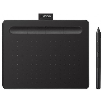 Wacom Intuos CTL-4100WL/K0-CX - Small Bluetooth Pen Tablet (Black)