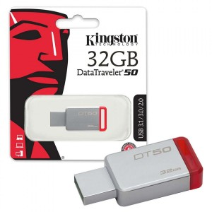 Kingston 32GB DataTraveler 50 USB 3.0 Flash Drive