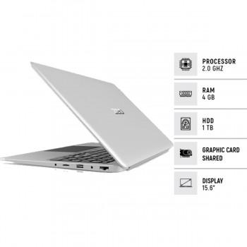 "i-Life ZedAir CX3 15.6"" Intel Core i3 4GB 1TB Laptop Silver - Official Warranty"