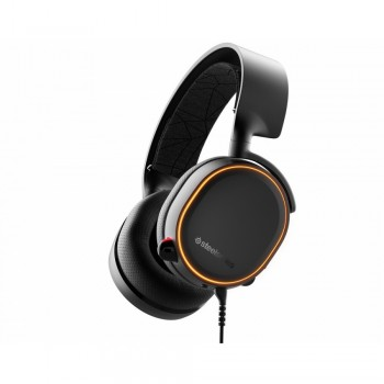 SteelSeries Arctis 5 (2019 Edition) RGB Illuminated Gaming Headset with DTS Headphone